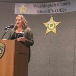 Melissa Cole of MAF Speaks at Project Right Choice 'Substance Abuse Prevention and Awareness' luncheon