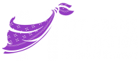 White Logo with Purple